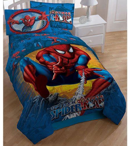 spiderman twin bed set spiderman boys twin comforter sheet set 4 piece bedding