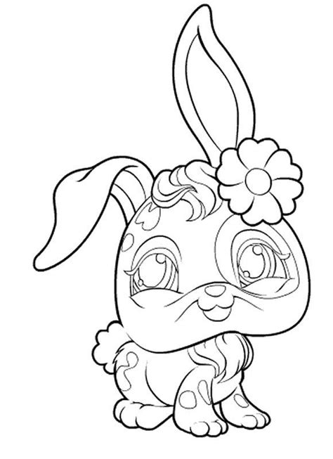 littlest pet shop zoe coloring pages coloring page