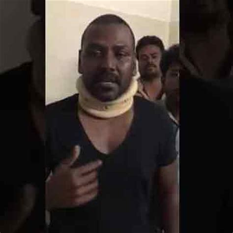 actor raghava lawrence native place raghava lawrence breaks down into tears after the chaos in