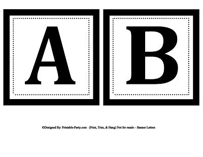 alphabet templates for banners printable alphabet letters a z printable banner letters