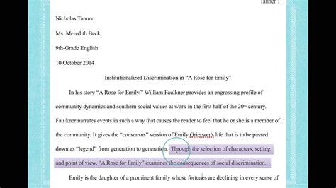 write  thesis statement   literary analysis