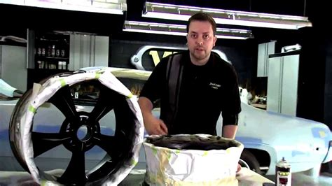 painting car wheels with vht wheel paint restoration of