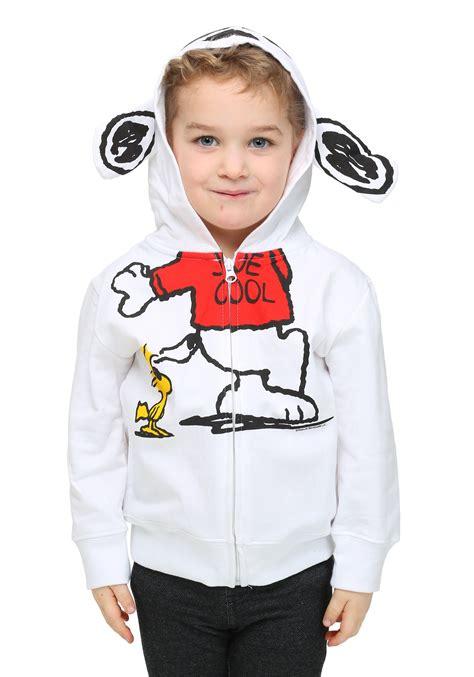 toddler boys peanuts joe cool costume zip up hoodie