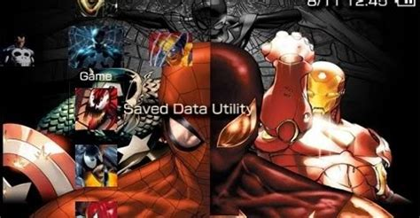 psp themes deadpool marvel free psp theme marvel heroes psp theme download
