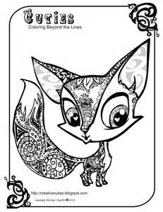 Coloring page fox coloring pages in animals coloring style free and