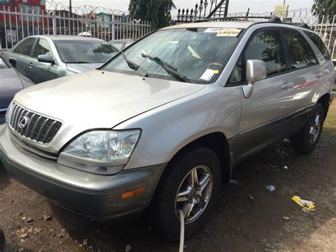 lexus 2003 model sold lexus rx300 4wd 2003 model new arrival autos nigeria