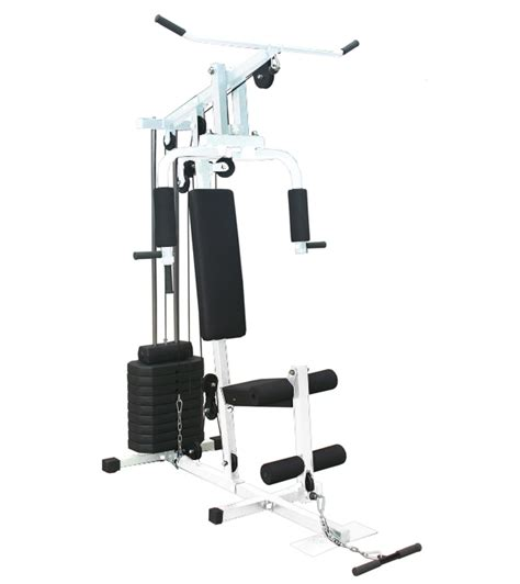 ironman hg001 white single station home fitness hub