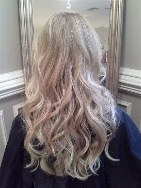 pearl blonde highlights invidia hair makeup blonde
