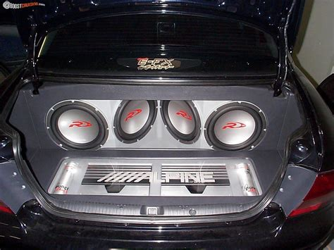 Handcrafted Car Audio - custom boot enclosure for vy commodore boostcruising