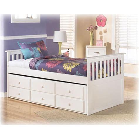 ashley furniture lulu bedroom twin bed  storage