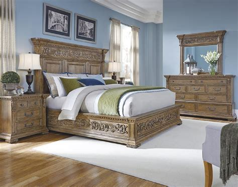 4 piece pulaski stratton bedroom set