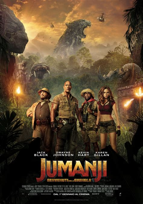 film jumanji streaming jumanji benvenuti nella giungla trama e cast screenweek