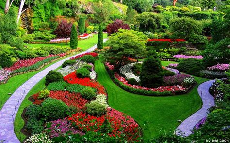 imagenes con jardines jardines y paisajes con flores taringa