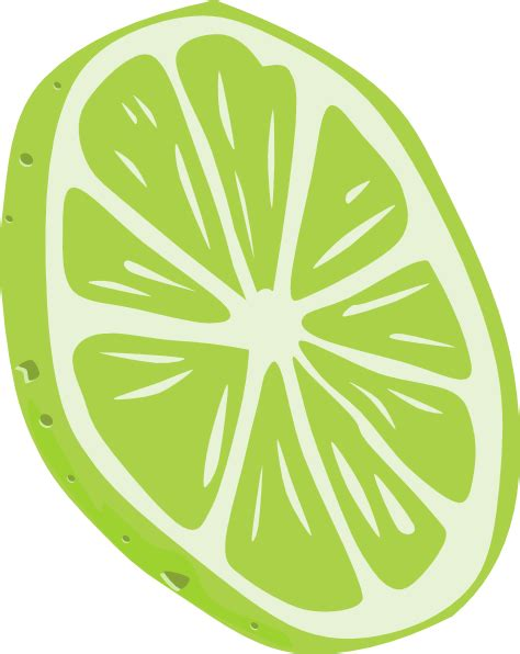 lime slice silhouette lime slice clip art at clker com vector clip art