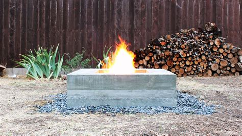 how to make an outdoor firepit how to make an outdoor concrete pit