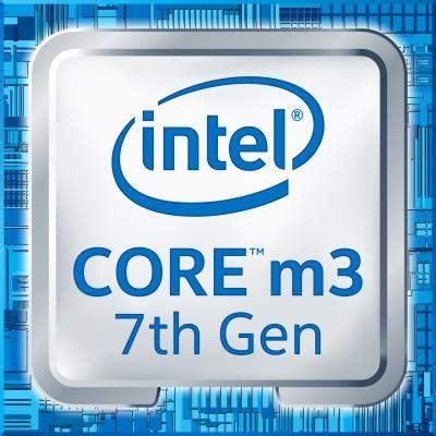 intel core m3 7y30 lower mid range power efficient cpu