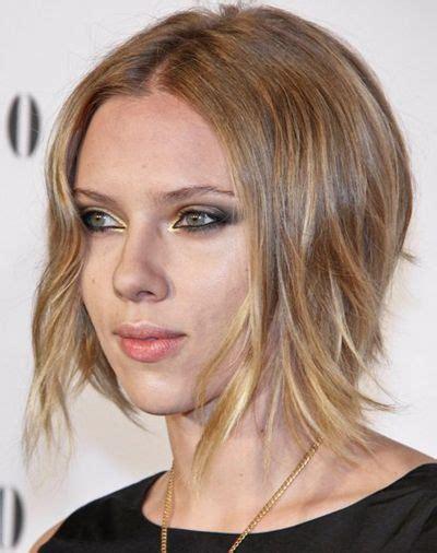o hara hairstyle bob hairstyles scarlett johansson s chic blonde