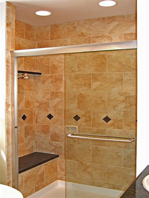 Bathroom Remodel Tile Shower Small Bathroom Shower Ideas Home Garden Design