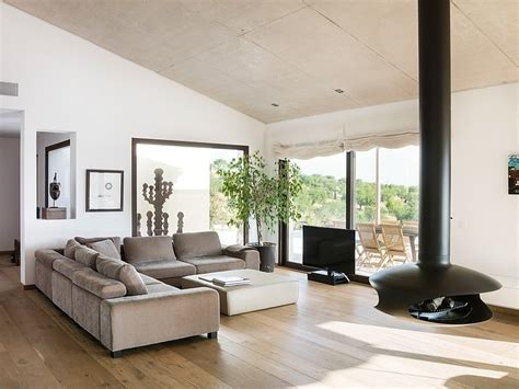 high definition modern open space living room by hd spanish family home with comfortably contemporary open