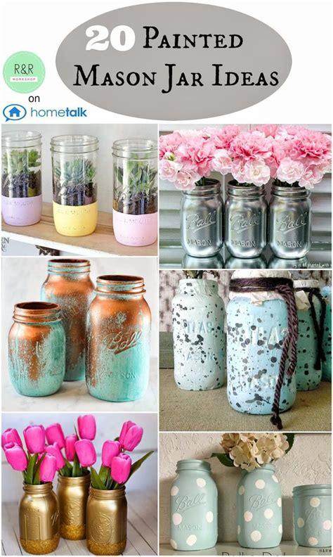 mason jar l diy diy crafts ideas r r workshop painted mason jar ideas