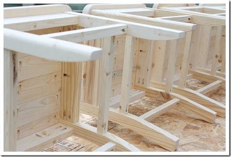 Diy Kitchen Chairs by Diy Farmhouse Kitchen Chairs The Shabby Creek Cottage