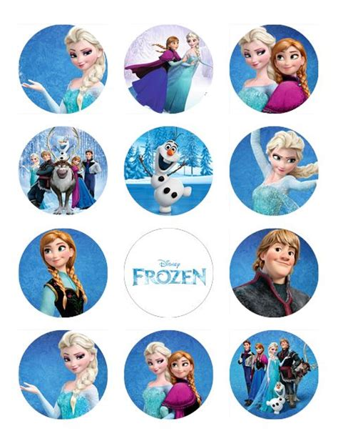 Topper Frozen frozen topper edible images cake topper