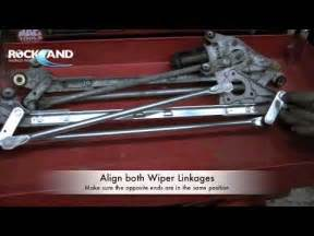 how to wiper linkage wiper transmission honda civic m4v