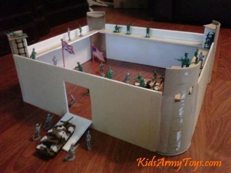 How To Make A Paper Fort - army toys for the best toys for