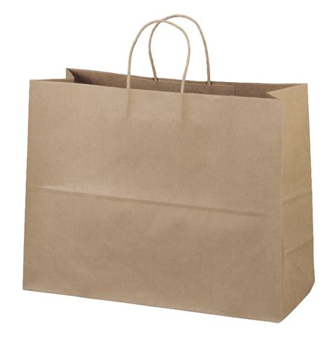 Paper Bags - custom eco vogue brown paper bag 11eco1612 motivators