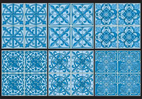 azulejo pattern azulejo patterns download free vector art stock