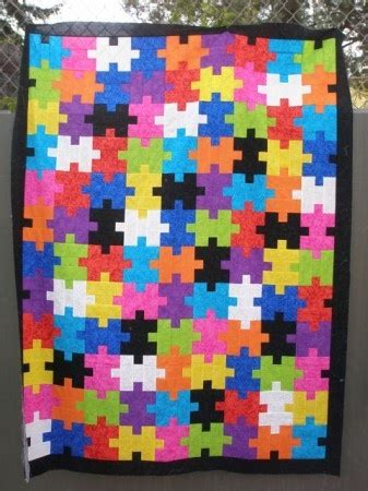 Jigsaw Puzzle Quilt Pattern by Jigsaw Puzzle Quilt Quilting