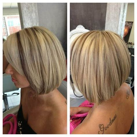 bleach blonde hair with low lights short style short blonde hair with brown lowlights my style