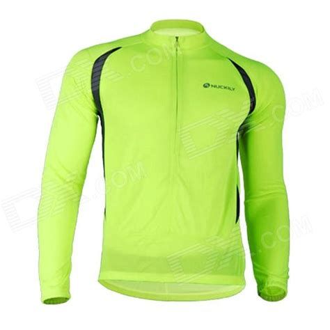 nuckily nj600 l s sleeves fast cycling jersey