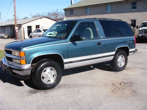 old car manuals online 1994 chevrolet blazer on board diagnostic system 1994 chevrolet blazer 4wd silverado 2 door 6 5l turbo diesel 120k rare find for sale in carlisle