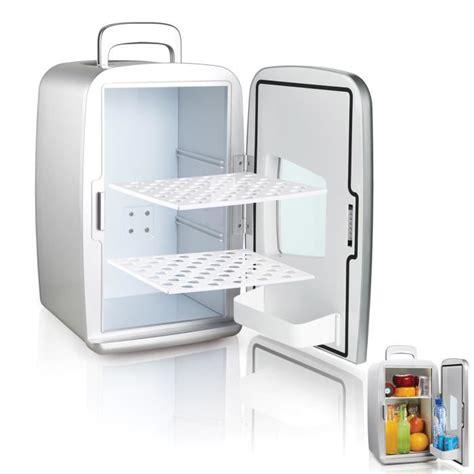 petit frigo pas cher 1232 mini frigo r 233 frig 233 rateur 14l portable argent achat