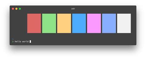 npm colors hyperterm colors npm