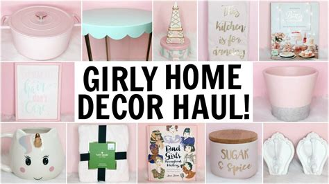 tj maxx home decor girly home decor haul homegoods target tj maxx hobby