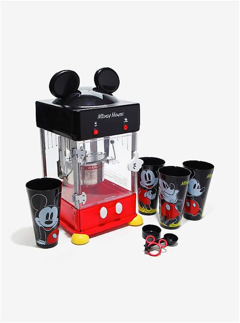 disney kitchen appliances disney mickey mouse kettle style popcorn popper boxlunch