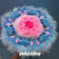 Buket Boneka Rilakkuma Folwer For You Pink jual buket stich buket murah dan terlengkap