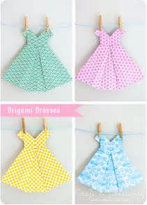 Baby Shower Long Dresses - origami craft amp creativity pyssel amp diy