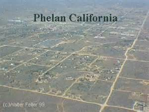 phelan california aerial photo tour pearblossom