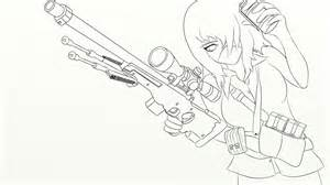 Csgo Awp Outline by Counter Strike Outline Anime Stuff By Crazyghostle On Deviantart