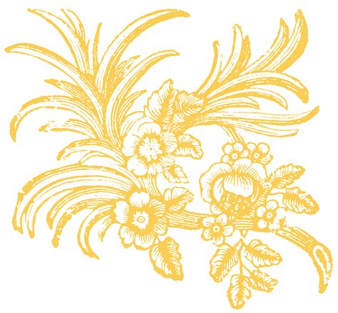 free floral images free floral ornaments the graphics fairy