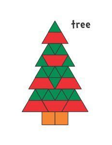 pattern block templates pinterest 1000 images about preschool winter holidays on