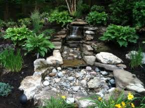 pondless water feature traditional landscape new