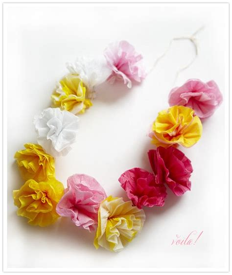 How To Make Paper Flower Leis - 25 best ideas about hawaiian leis on hawaiian