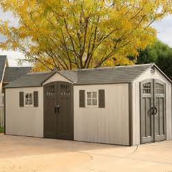 lifetime 20 x 8 outdoor storage shed building sam s club