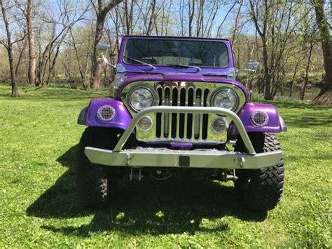 Jeep Stroker 1976 Custom Jeep Cj 7 383 Stroker Small Block 44