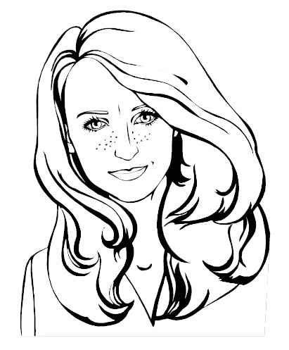 coloring pages of people s faces photo pic1 8 jpg color people ladies pinterest