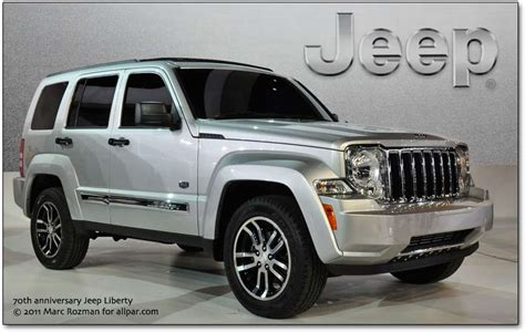 2011 Jeep Liberty 70th Anniversary Edition Chrysler At The 2011 Detroit Auto Show American